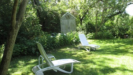 Brewster Cape Cod vacation rental - Private peaceful back yard