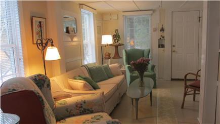 Brewster Cape Cod vacation rental - Living room with flat screen/DVD TV