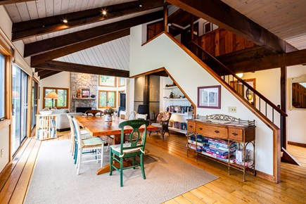 Orleans Cape Cod vacation rental - Open Living/ dining area