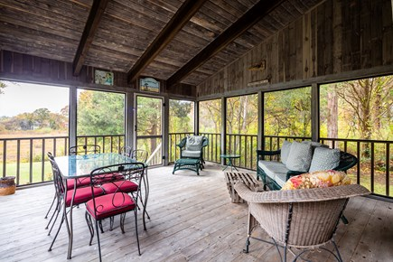 Orleans Cape Cod vacation rental - Screened-in porch with plenty of seating