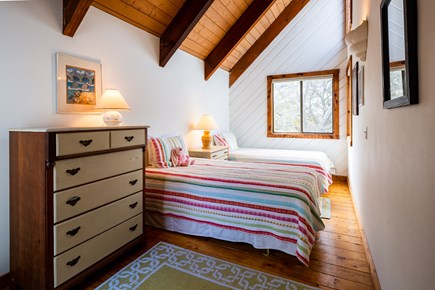 Orleans Cape Cod vacation rental - upper level twin bedroom