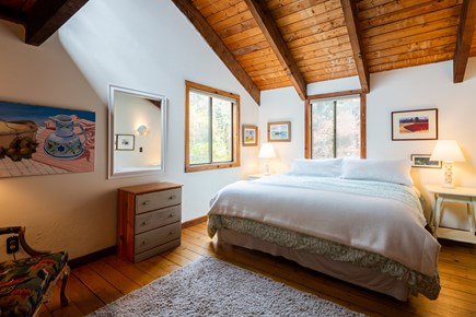 Orleans Cape Cod vacation rental - Second floor king bedroom with loft