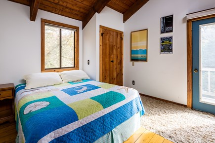 Orleans Cape Cod vacation rental - Second floor queen bedroom with loft and access to upper deck