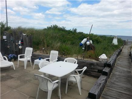 Bourne, Sagamore Beach Cape Cod vacation rental - Relax on the patio!