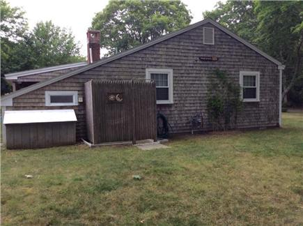 South Yarmouth Cape Cod vacation rental - Side yard and outdoor shower
