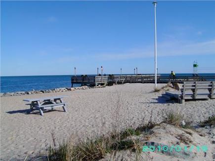 South Yarmouth Cape Cod vacation rental - Fishing Pier at Bass River Beach