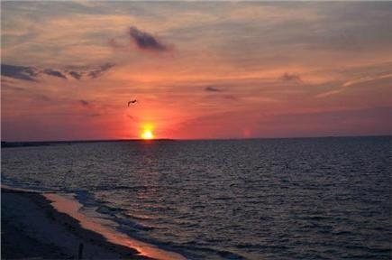 South Yarmouth Cape Cod vacation rental - Sun Rise at Bass River Beach