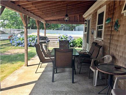 South Yarmouth Cape Cod vacation rental - Backyard patio