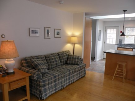 Wellfleet Cape Cod vacation rental - Living area open to kitchen.