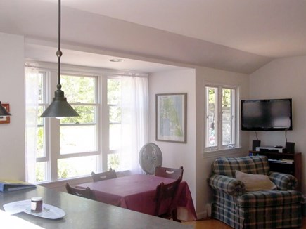 Wellfleet Cape Cod vacation rental - Eating area.