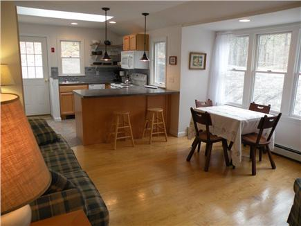 Wellfleet Cape Cod vacation rental - Open living and kitchen area.