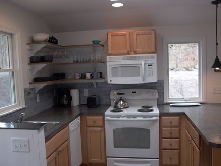 Wellfleet Cape Cod vacation rental - Kitchen with dishwasher.
