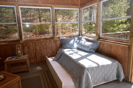 Truro Cape Cod vacation rental - Daybed with trundle on 3 season porch