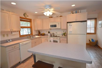 Truro Cape Cod vacation rental - Full Equipped Kitchen with tile floor and center island