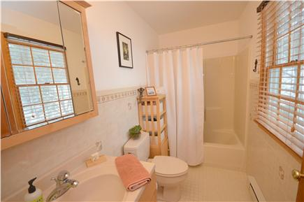 Truro Cape Cod vacation rental - Full Bath with tub/shower combo.
