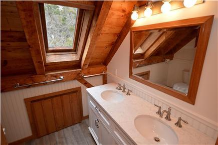 Orleans Cape Cod vacation rental - Upstairs full bathroom, skylight