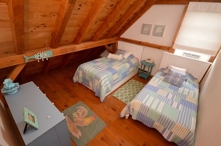 Orleans Cape Cod vacation rental - Brand new bunk beds upstairsw Twin Beds and frames