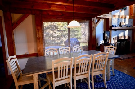 Orleans Cape Cod vacation rental - Indoor dining - seating for 8 adjacent to kitchen and deck