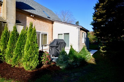 Orleans Cape Cod vacation rental - Private deck with open-air dining place and grill