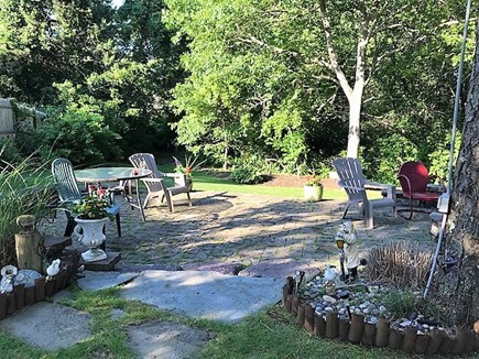 West Yarmouth Cape Cod vacation rental - Patio sitting area