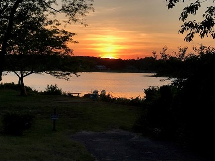 West Yarmouth Cape Cod vacation rental - Beautiful sunset from sitting area