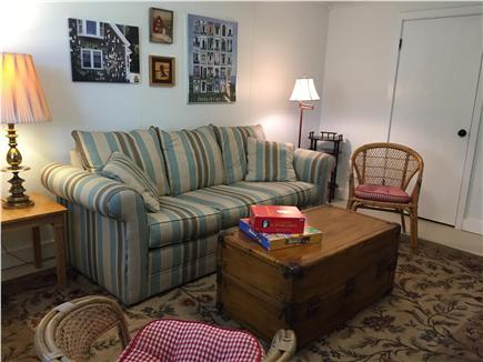 East Orleans Cape Cod vacation rental - A place just for the kids with a TV and lots of games to play.