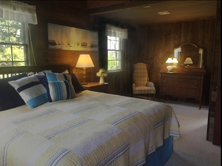 East Orleans Cape Cod vacation rental - Master with king bed and sitting area.
