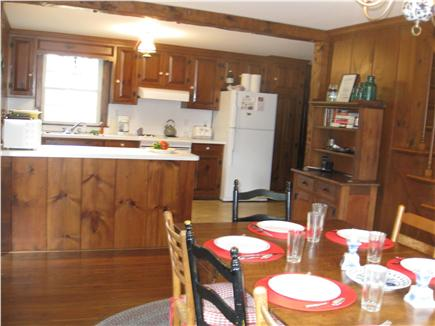 East Orleans Cape Cod vacation rental - Fully equipped kitchen w/dishwasher, lobster pot & microwave.
