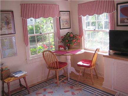 Wellfleet Cape Cod vacation rental - Dine inside...