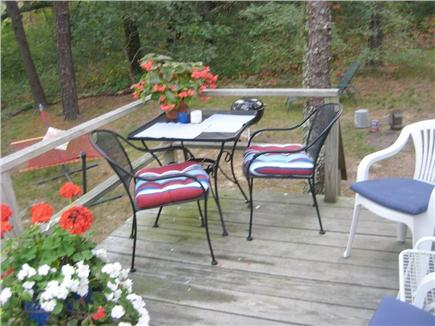 Wellfleet..adjacent to Bike Tr Cape Cod vacation rental - ...or dine outside