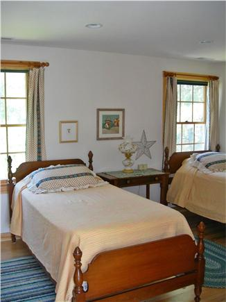 S. Chatham Cape Cod vacation rental - Twin bedroom with large closet and door to bath