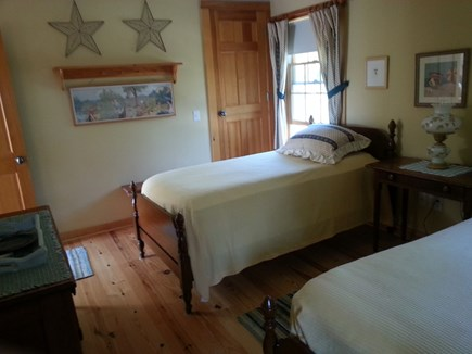 S. Chatham Cape Cod vacation rental - Twin bedroom large closet on the north side of house.