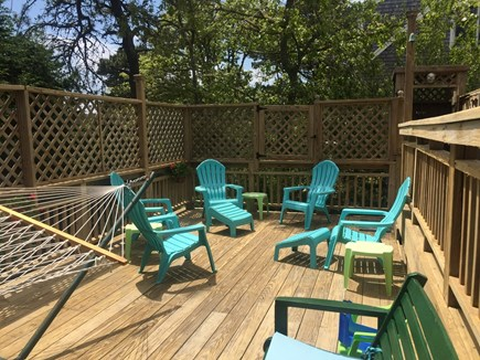 S. Chatham Cape Cod vacation rental - Lower deck