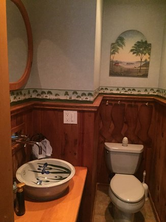 S. Chatham Cape Cod vacation rental - Powder room