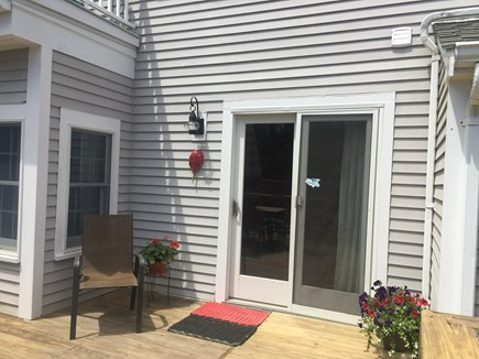 S. Chatham Cape Cod vacation rental - Slider to deck