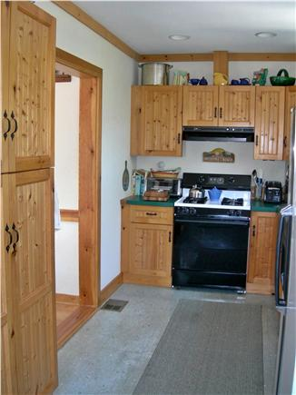 S. Chatham Cape Cod vacation rental - Kitchen very well stocked with all ''mod cons'' washer and dryer