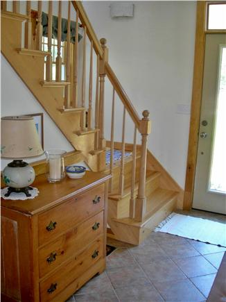 S. Chatham Cape Cod vacation rental - Stairway to second floor