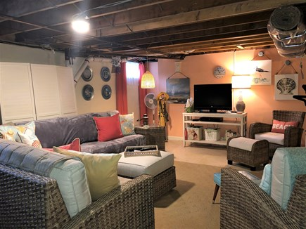 Harwich Cape Cod vacation rental - Second living area with sectional couch