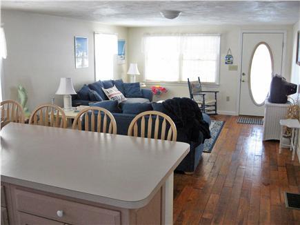 West Dennis Cape Cod vacation rental - Open Kitchen to Livingroom Floor Plan