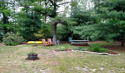 Historic Dennis Village Cape Cod vacation rental - Yard & Picnic Table Area