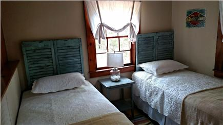 Historic Dennis Village Cape Cod vacation rental - Back Bedroom, 2 Twin Beds