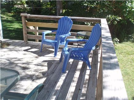 Mashpee, Popponesset Cape Cod vacation rental - Relax on the deck