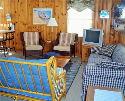 Mashpee, Popponesset Cape Cod vacation rental - Comfortable Living Room - Relax, Read, Internet or Watch the Game