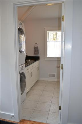 Brewster Cape Cod vacation rental - First Floor Half Bath with Laundry