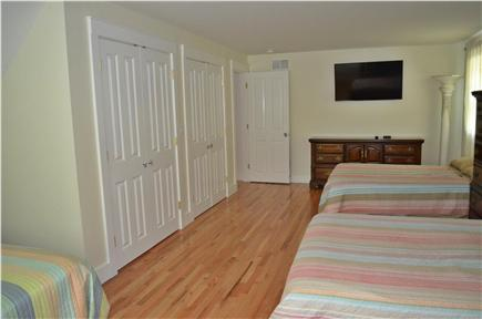 Brewster Cape Cod vacation rental - 3rd Bedroom 2nd Floor - Queen bed & 2 full beds
