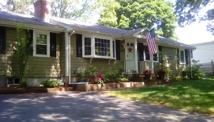 South Dennis Cape Cod vacation rental - Front of house