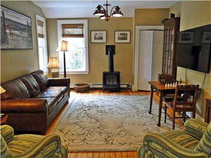 Woods Hole Woods Hole vacation rental - Library/TV/Games Room with new gas stove