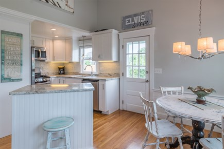 West Yarmouth Cape Cod vacation rental - New kitchen w/granite, stainless appliances & custom cabinets