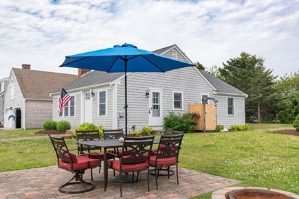 West Yarmouth Cape Cod vacation rental - Relax on the patio