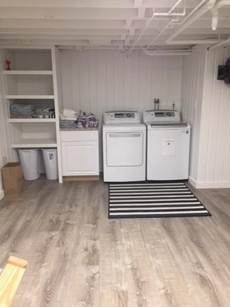 Falmouth Cape Cod vacation rental - Laundry in newly finished basement